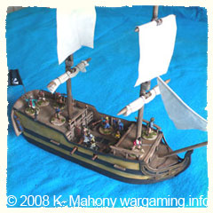 Aye!! She's a Buxom Beauty of a Pirate Ship!