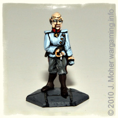 Austro-Hungarian Staff Officer - actually a Eureka Pax Limpopo Figure - makes a guest appearance!
