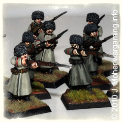 Siberian Infantry Arrive! 28mm WW1 Russian Troops.