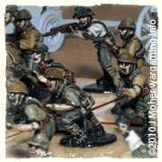 Japanese Infantry Attack!