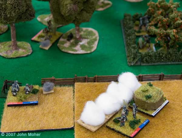 German Defenders Get Smoked! But more are revealed in the Orchard!