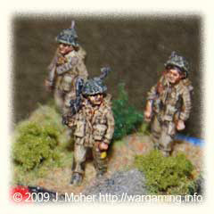 British Tommies in Normandy - AB Figures from my collection.