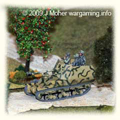 Marder I cautiously surveys the objective