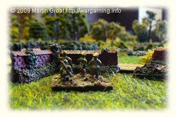 Allied Battalion Commander surveys the terrain.