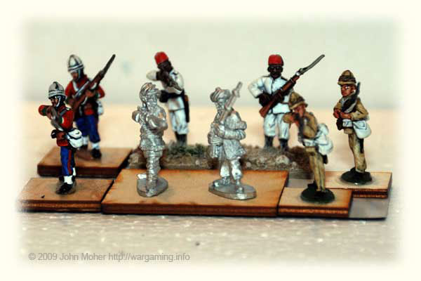 28mm Askari Miniatures Figure Comparison – Wargaming info
